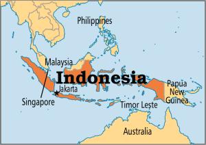 Map of Indonesia (ranijarkas.wordpress.com)